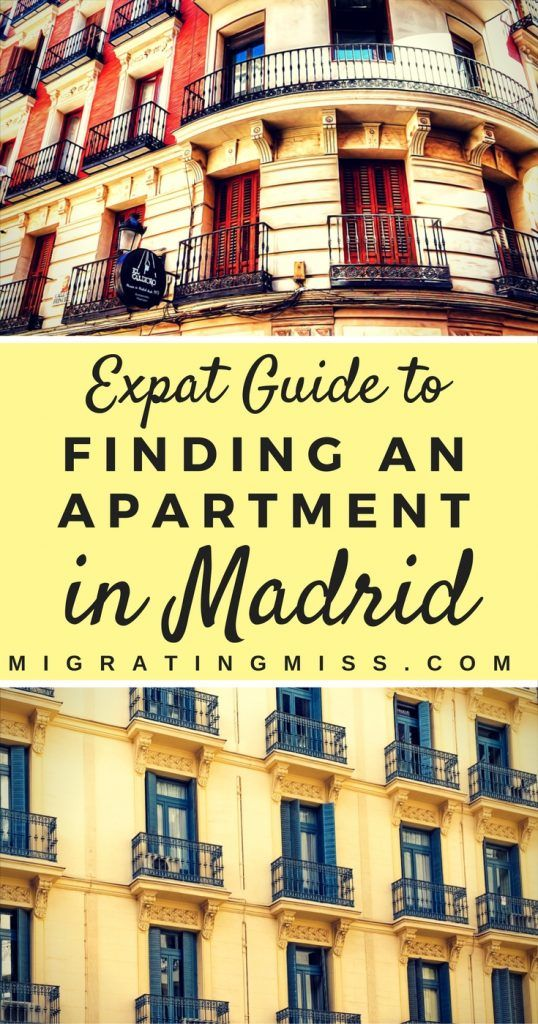 How to Find Apartments for Rent in Madrid, Spain - Finding Madrid apartments for rent as a student and expat can be hard, so here's a guide to help you get started! #madrid #spain #travel #studyabroad #expat #expatlife