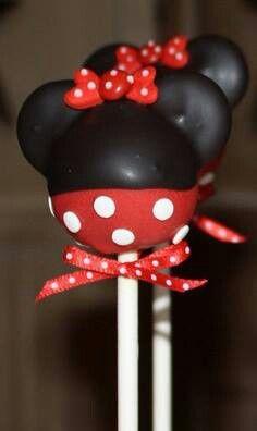 Minnie Mouse Cakepop