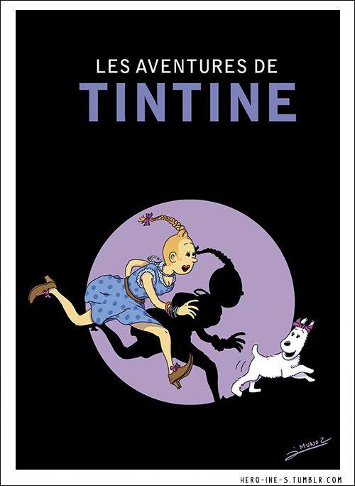 Les aventures de Tintine