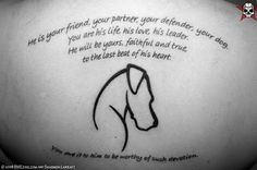 I dont have dogs, nor would i get amdog tattoo, however, this sentiment, this feeling is similar for me and my baby cats. Its's beautiful. Lovely dog tattoo
