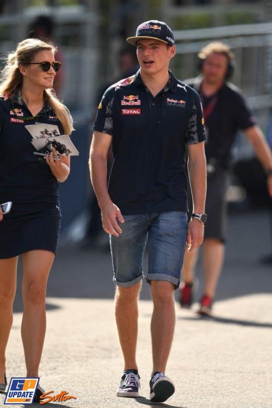 Max Verstappen, Formule 1 Grand Prix van België 2016, Formule 1
