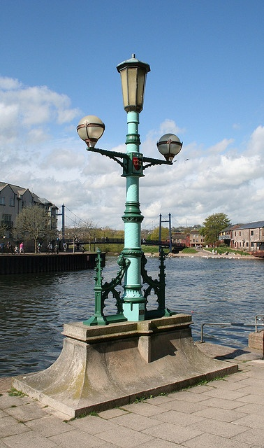Exeter, Quay, Exe bridge lamp post 1, by MacFarlane by Tollhouse Alan, via Flickr