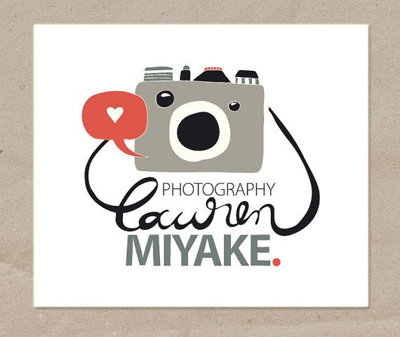 Custom Logo Design-Photography and Business Branding Design-Hand Drawn-Logo, Business Card, Letterhead, Web Ad, Blog/Etsy Shop Banner