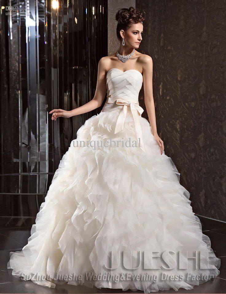 Designer bridal dresses 2013 images for Most unique wedding dress designers