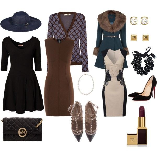 Vintage classy style. Via Funeral Outfits: What to Wear at a Funeral