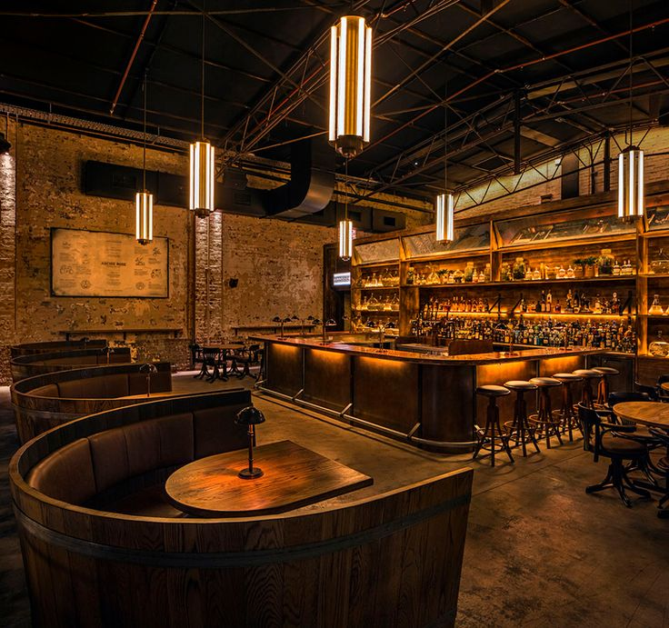 Restaurant & Bar Design Awards Shortlist 2015: Australia & Pacific Bar - Restaurant & Bar Design