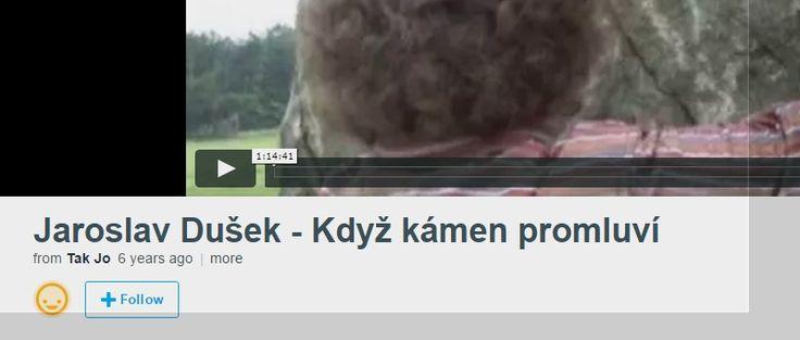 Jaroslav Dušek - Když kámen promluví on Vimeo