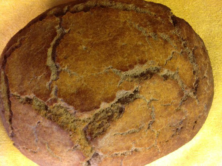 Tarhanalı çörek...külde pişmiş...