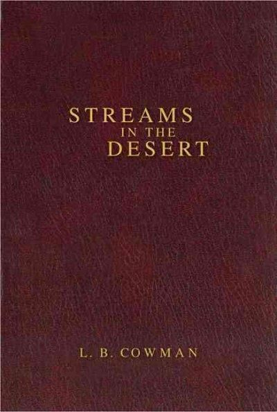Few books ever attain such a widespread recognition and perennial appeal as Streams in the Desert. Now over seventy years since its first publication, this marvelous devotional by Mrs. Charles E. Cowm