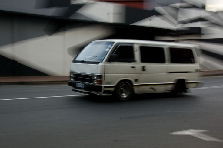 taxi in the Maboneng district of johannesburg #panning #sometimeselnablogs #photograpy