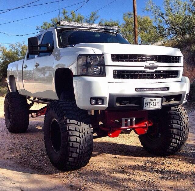 big lifted chevy trucks - photo #12