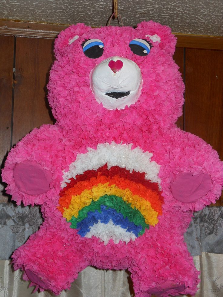 Care Bear Pinata Pinata S Made By Sherry Pinterest