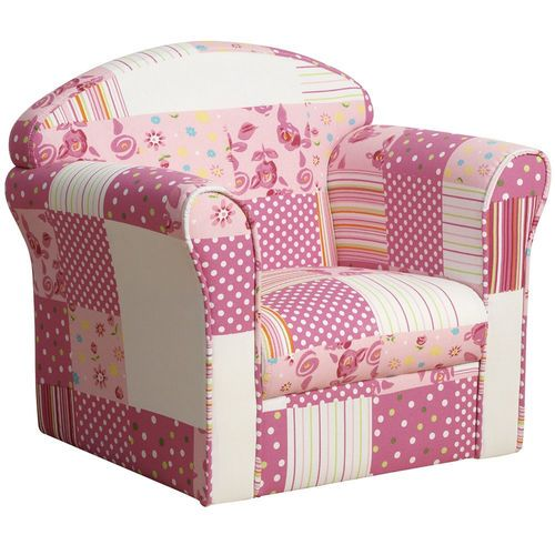 Kidsaw Mini Armchair in Pink Patchwork