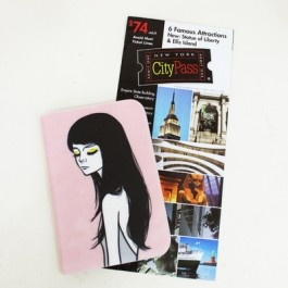 Diva Girls Passport Case SD_024
