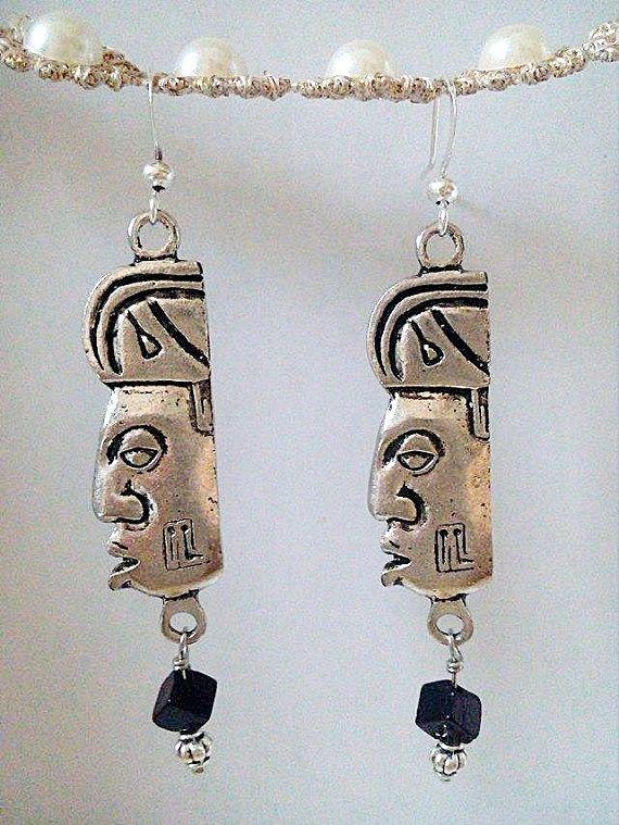 Regalo de cumpleaños mayas pendientes joyería Maya