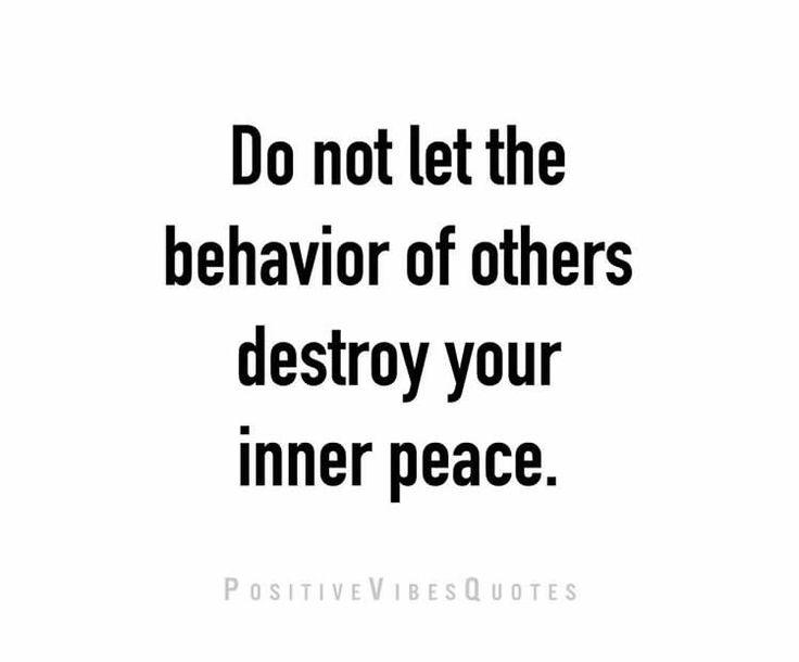 Ignore negativity and consume positivity.