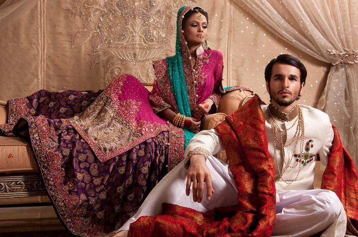 Pakistani Bride & Groom:)