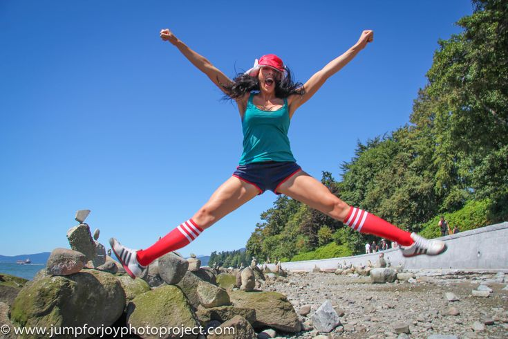 Jumping photo of the day – Aliyah O'Brien! August 21, 2012