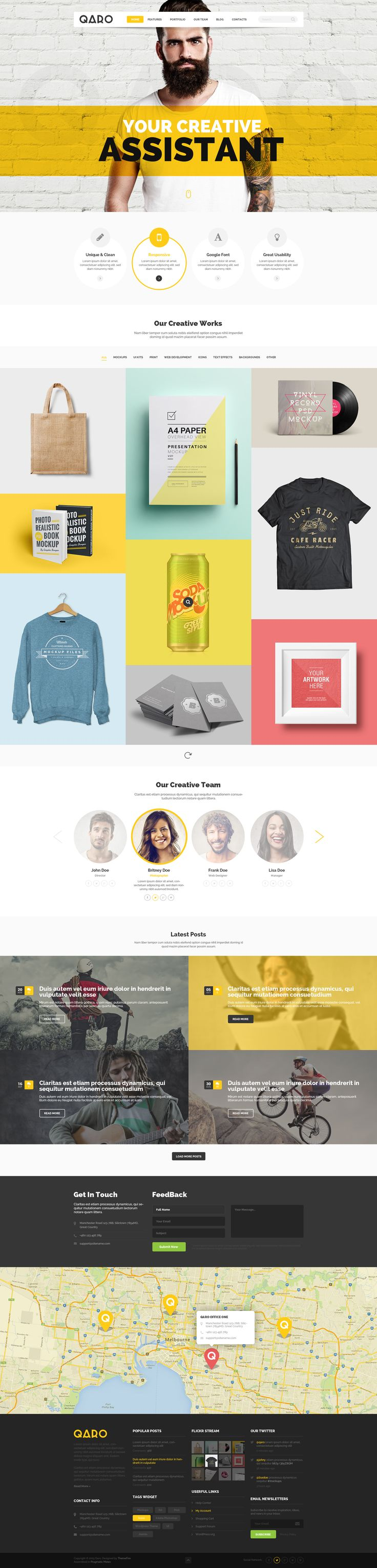 19+ Best Creative Portfolio WordPress Themes