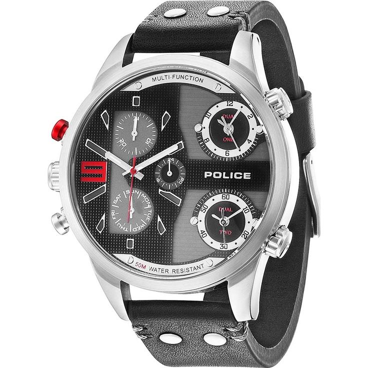 14374JS-02 Mens Police Watch - Watches2U