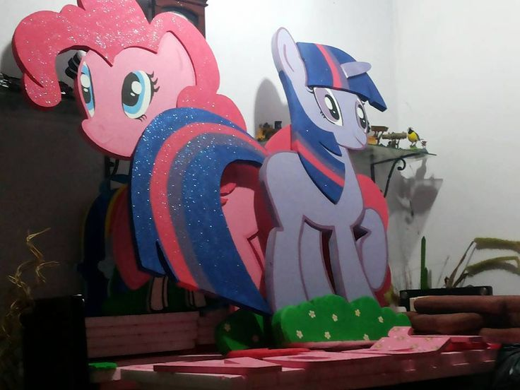 Figura icopor My Little Pony Fiesta Infantil
