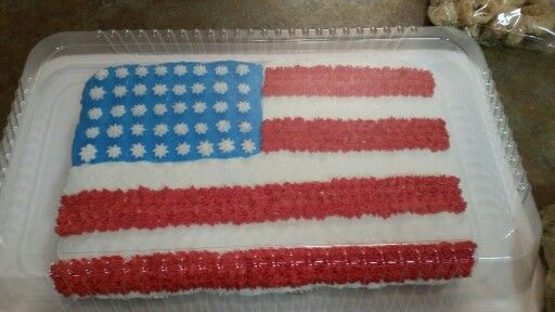 I made this for the 4th of July bbq