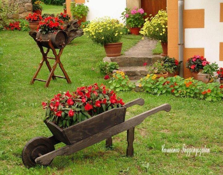 Sokan álmodni sem merünk egy saját kertről, amit úgy rendezhetünk be, ahogyan mi szeretnénk. Mégis bennünk él a remény, hogy egyszer majd...