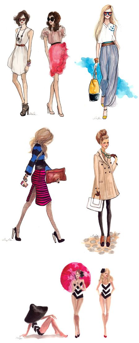 fashion in sketches