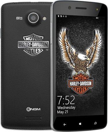 NGM Harley Davidson. Il telefono Windows Phone per gli amanti delle due ruote.
