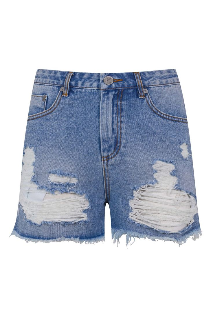 The Kendall & Kylie Collection For Topshop Is Here  #refinery29  http://www.refinery29.com/2015/06/88378/kendall-kylie-jenner-topshop#slide-18  Kendall & Kylie shorts, $48.91, available June 3 at Topshop.