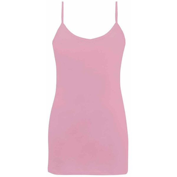 BKE Core Two-Way Basic Tank Top - Pink Small ($16) ❤ liked on Polyvore featuring tops, shirts, tank tops, tanks, pink, strappy tank top, scoopneck tank, strap shirt, strap tank and low v neck shirt