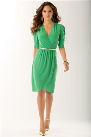 Belted-Tulip-Dress @ Metrostyle Sale Price: $29.99, Original: $54.99