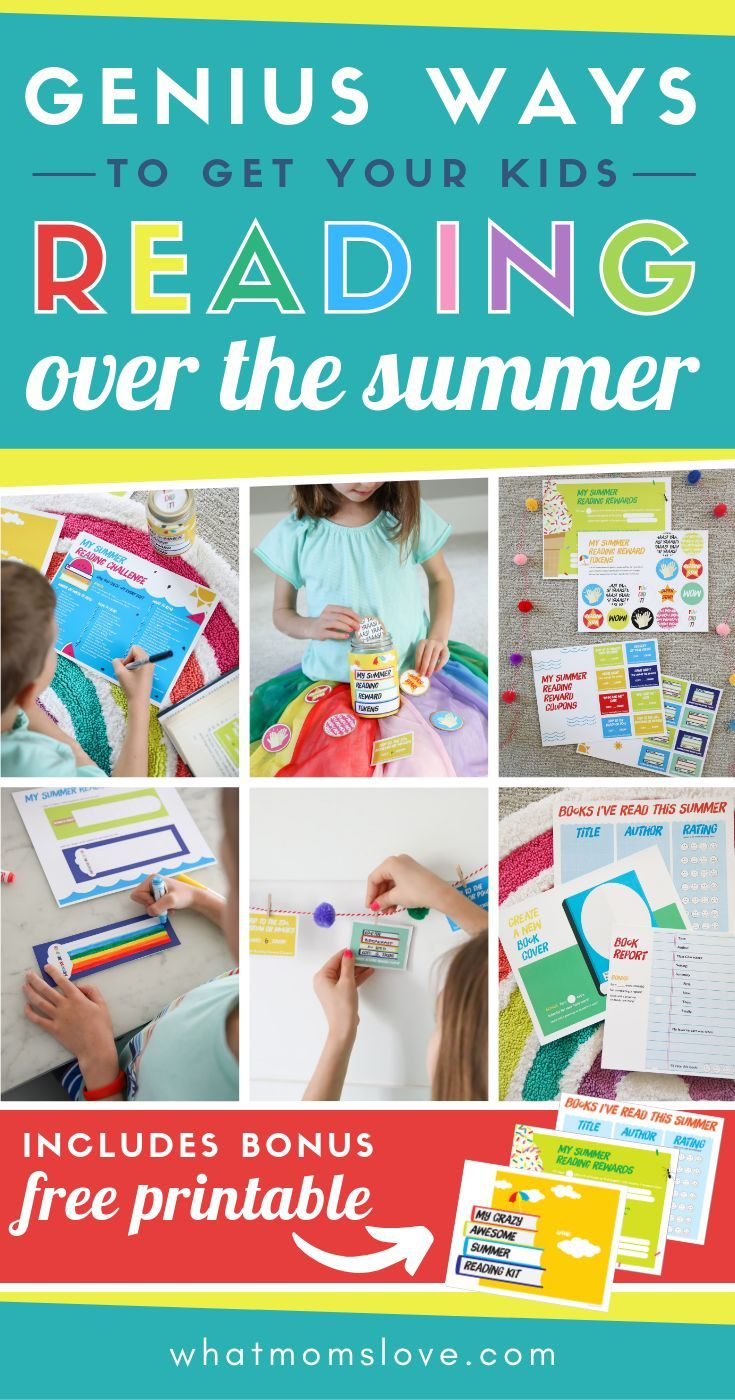 How To Get Your Kids To Read This Summer (With Free ...