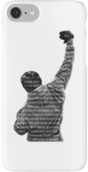 How Hard You Get Hit - Rocky Balboa iPhone 7 Cases