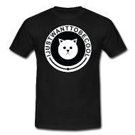T-shirts ~ Standard-T-shirt herr ~ IJustWantToBeCool - Svart