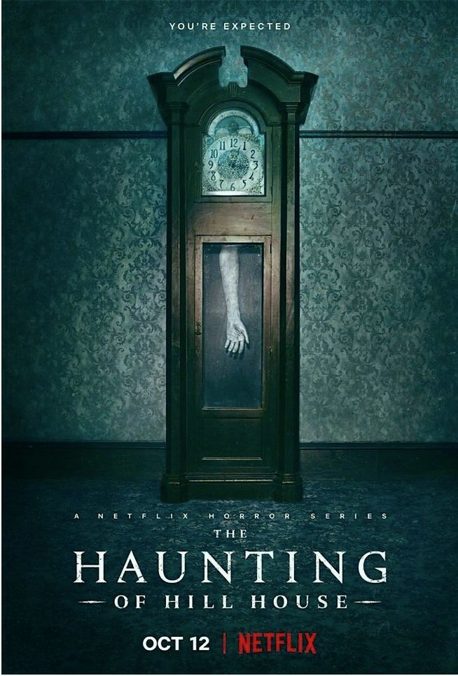 The Haunting Of Hill House Promo House On A Hill Netflix Horror Series Netflix Horror