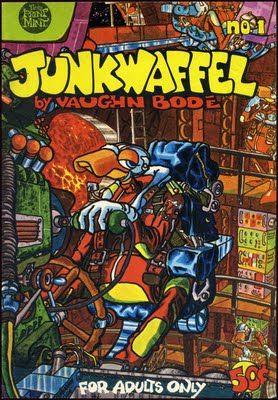 Vaughn Bode was a total inspiration during my teens! Pellucidar Offerings 3: VAUGHN BODE: Junkwaffel & Cobalt 60