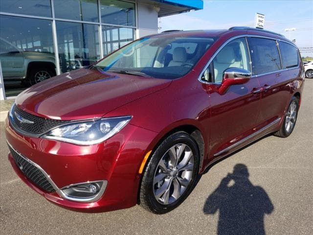 Check Out This New 2019 Velvet Red Pearlcoat Chrysler Pacifica