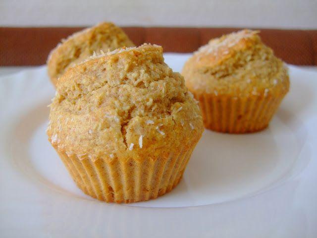 Modemalist: Kokosové muffiny