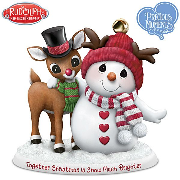 Together Christmas Is Snow Much Brighter Figurine Precious Moments Precious Moments Figurines Snow Much Fun
