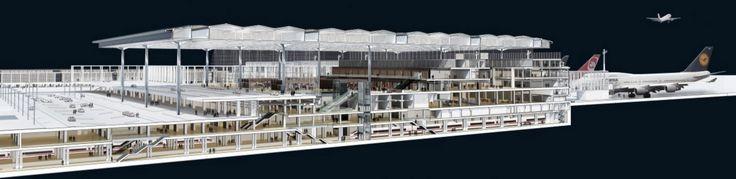 Berlin Brandenburg Airport #PerspectiveSection