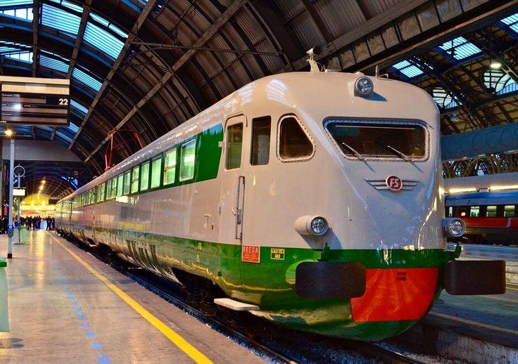 Breda Emu, FS ETR 200 at Milano Centrale