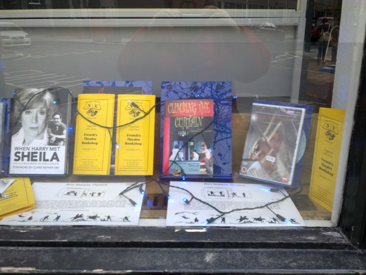 Window dressing at Samuel French's Theatre Bookshop! http://www.samuelfrench-london.co.uk/