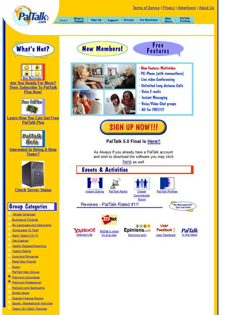 PalTalk website in 2002