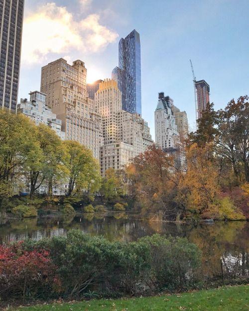Central Park New York by Scott Lipps.