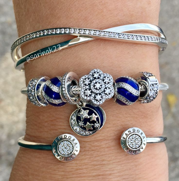 My new Pandora beauties, Dec.2016 WOMEN'S JEWELRY http://amzn.to/2ljp5IH