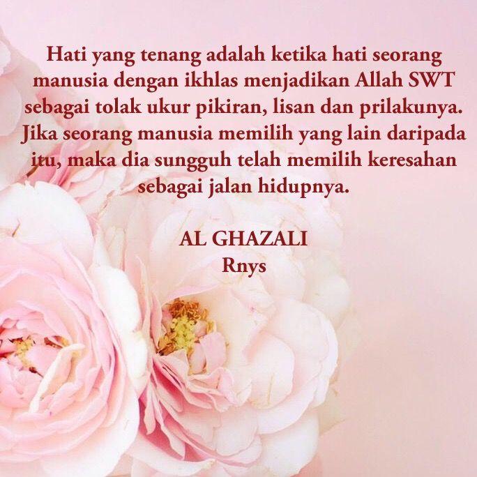 Al Ghazali Kutipan Inspirasi Dan Bijak