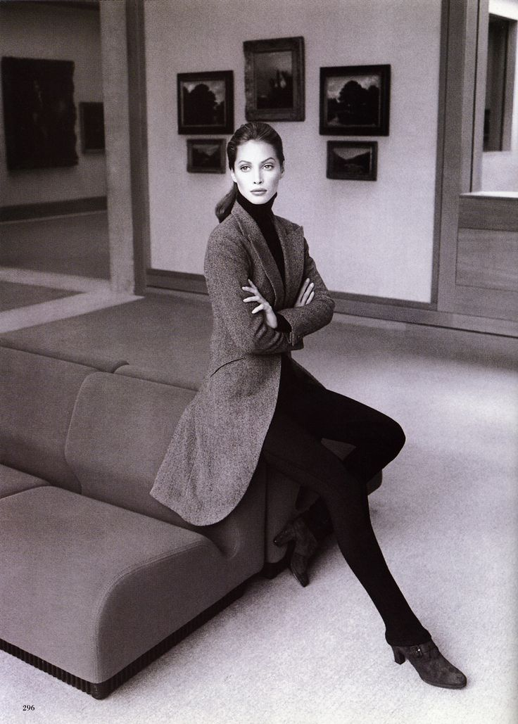 Christy Turlington by Patrick Demarchelier
