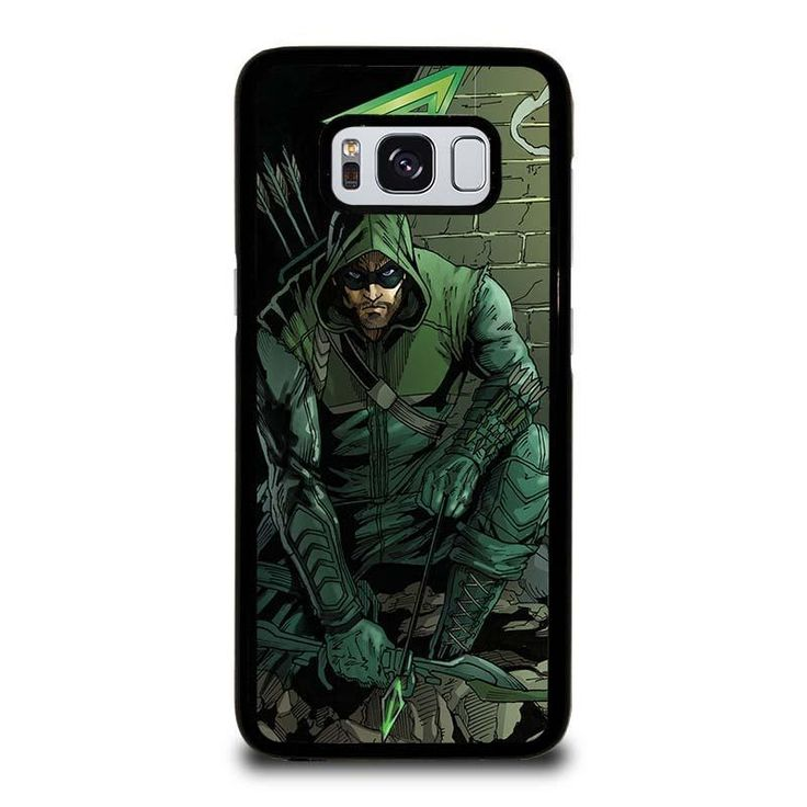 THE GREEN ARROW Samsung Galaxy S3 S4 S5 S6 S6 Egde S6 Edge Plus S7 S7 Edge S8 S8 Plus Note 3 4 5 8