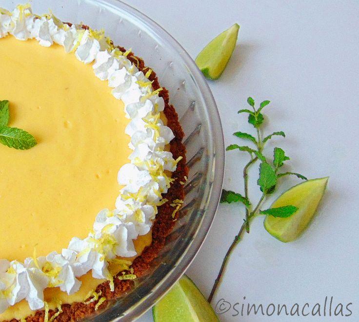Tarta Mojito cu menta si limete Tarta Mojito / Mojito Pie e un dulce unic, exotic, spectaculos, care se prepară în timp scurt şi fără dificultate.